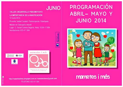 Programación actividades 2013-2014