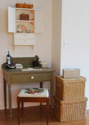 The Functional Kitchen Desk