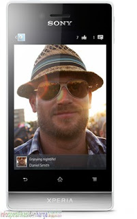Harga Sony Xperia Miro ST23 / ST23i (Sony Mesona) Hp Terbaru 2012