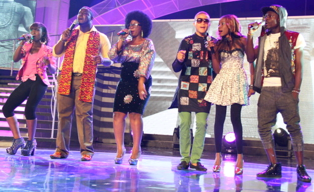 nigerian idols contestants