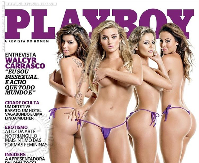 Exclusivo Revista playboy Maio de 2013 todas as Fotos
