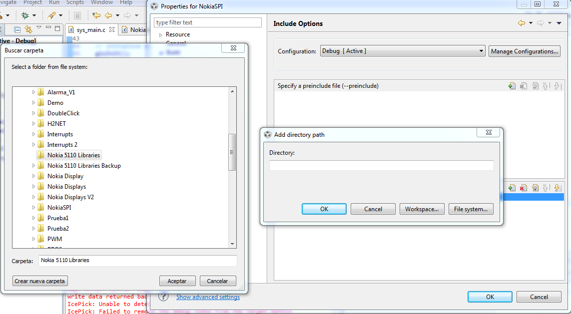 nokia e6 how to make folders in system directory