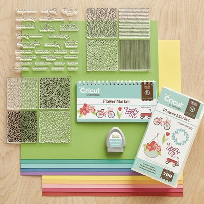 Flower Market Cricut Collection
