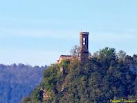 "L'església de San Sebastià. Autor: Francesc ""Caminaire"""
