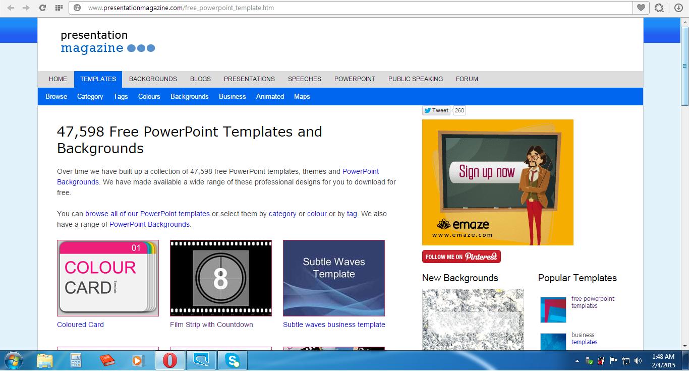 download template gratis