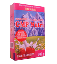 Susu Kambing GMP Nutri Strawberry