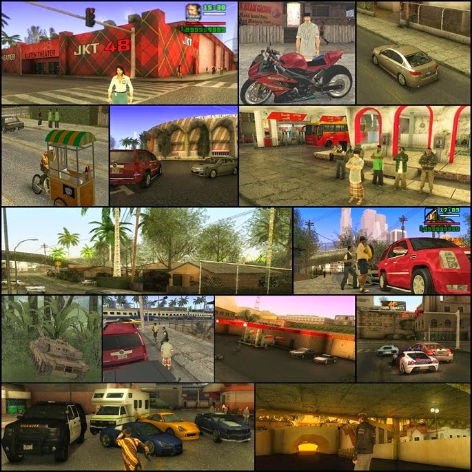 Download Game GTA San Andreas Versi Indonesia