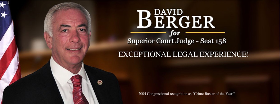 David Berger for Judge