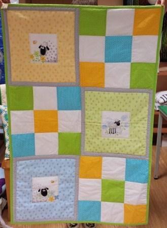 Estilart manualidades patchwork colchas infantiles de - Colchas patchwork infantiles ...