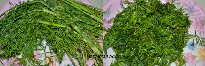 Dill Leaves Bhath + Easy Breakfast
