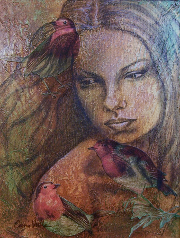 Carrie Vielle |Mixed Media Artist