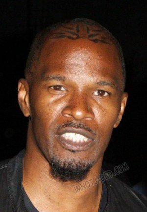 Jamie Foxx Tattoo