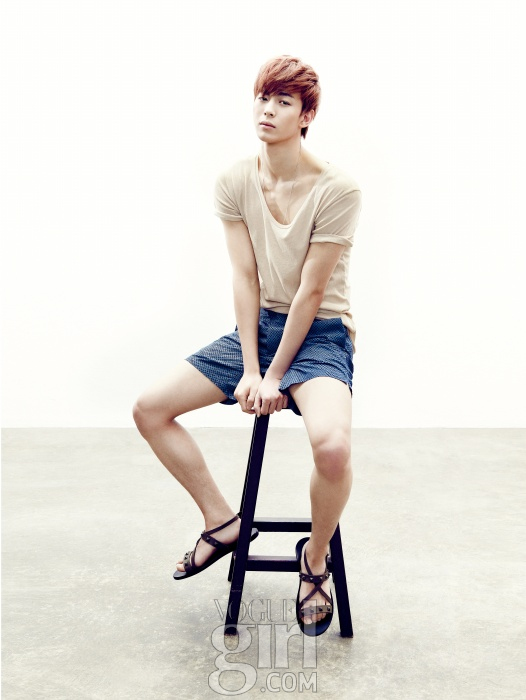 VIXX - N  amp  Hong Bin - Vogue GirlVixx Hongbin Abs