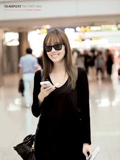 SNSD Jessica All About Girls Generation in Airport