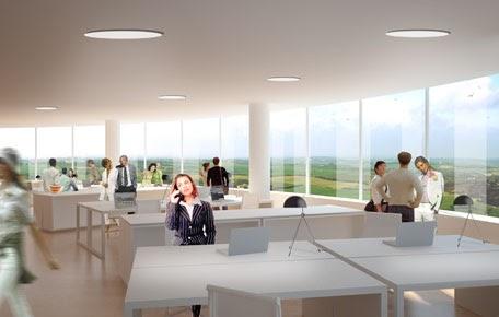Future Minds: Aarhus Arkitektur, Denmark 2011. Skejby Towers.