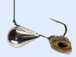 Зимой за окунем. Хорошая насадка на зимней рыбалке -окуневый глаз.