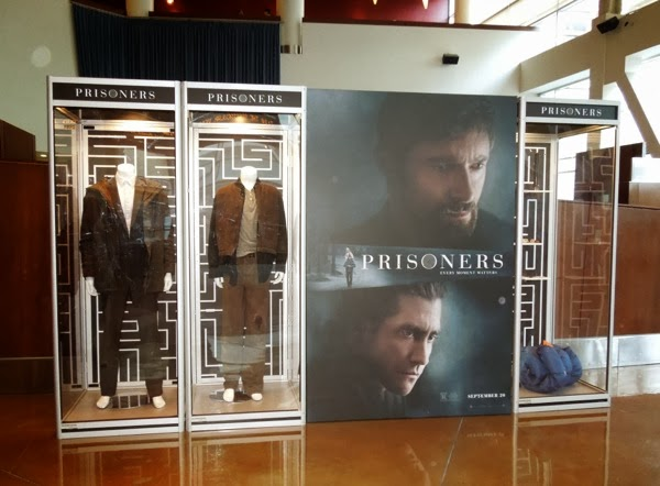 Prisoners movie costume props exhibit