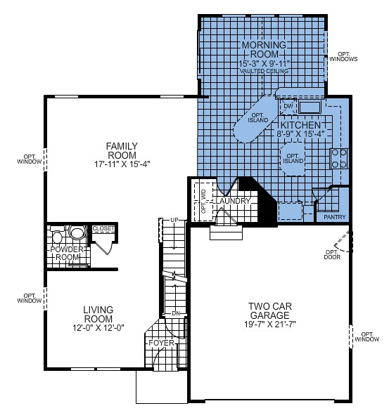 Ryan Homes Florence Floor Plan Pictures To Pin On