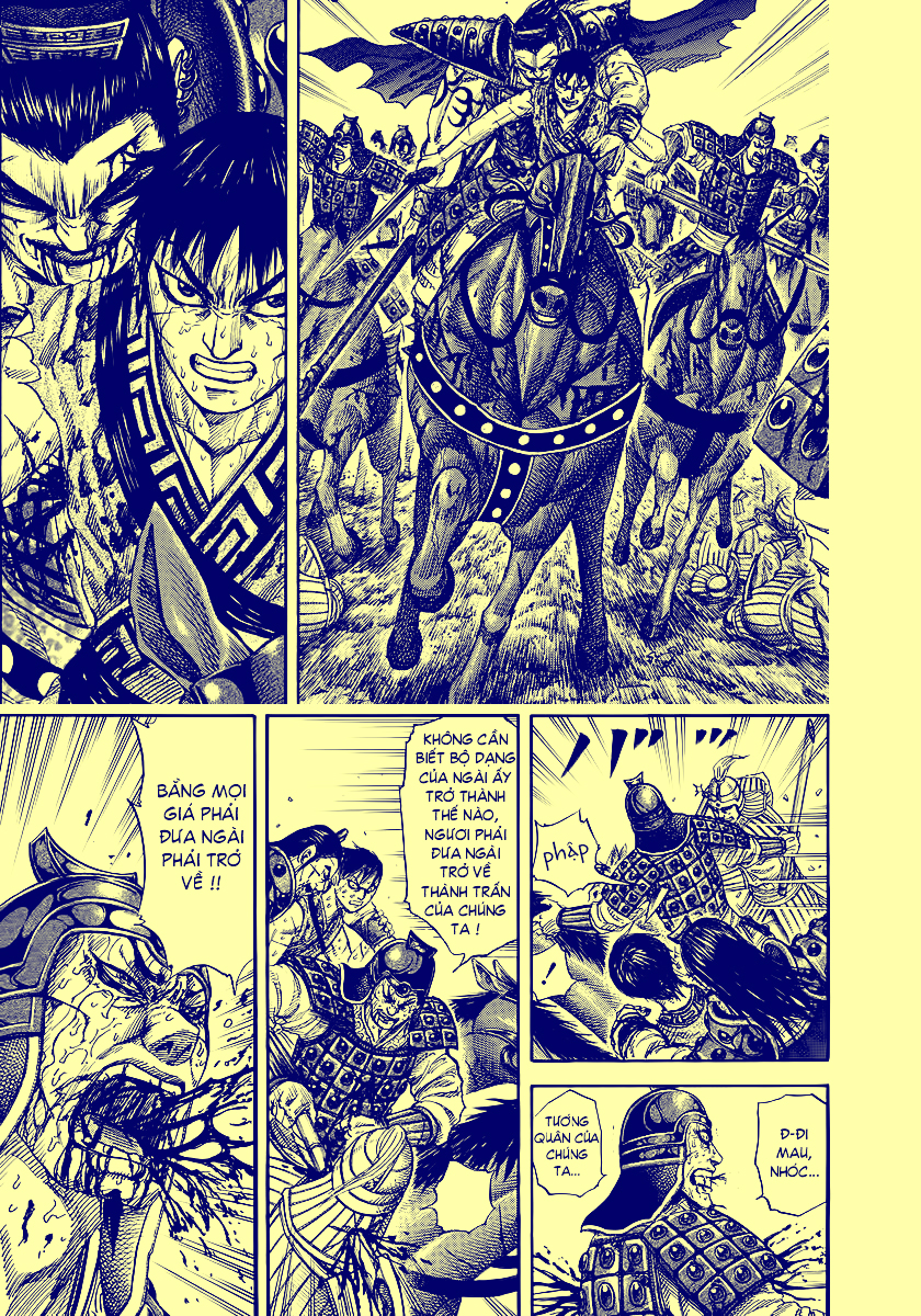 Kingdom – Vương Giả Thiên Hạ chap 499 Trang 20