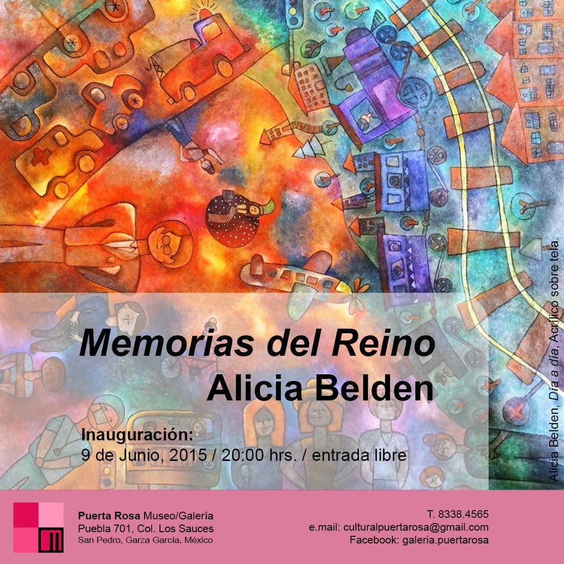 """MEMORIAS DEL REINO"". ALICIA BELDEN"