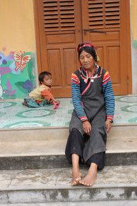 A La Hủ ethnic woman in Mường Tè