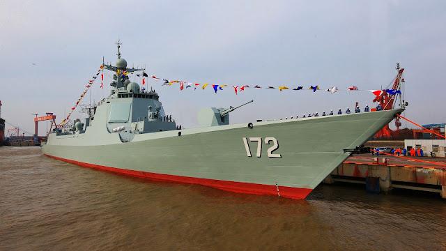 Type 052D class DDG