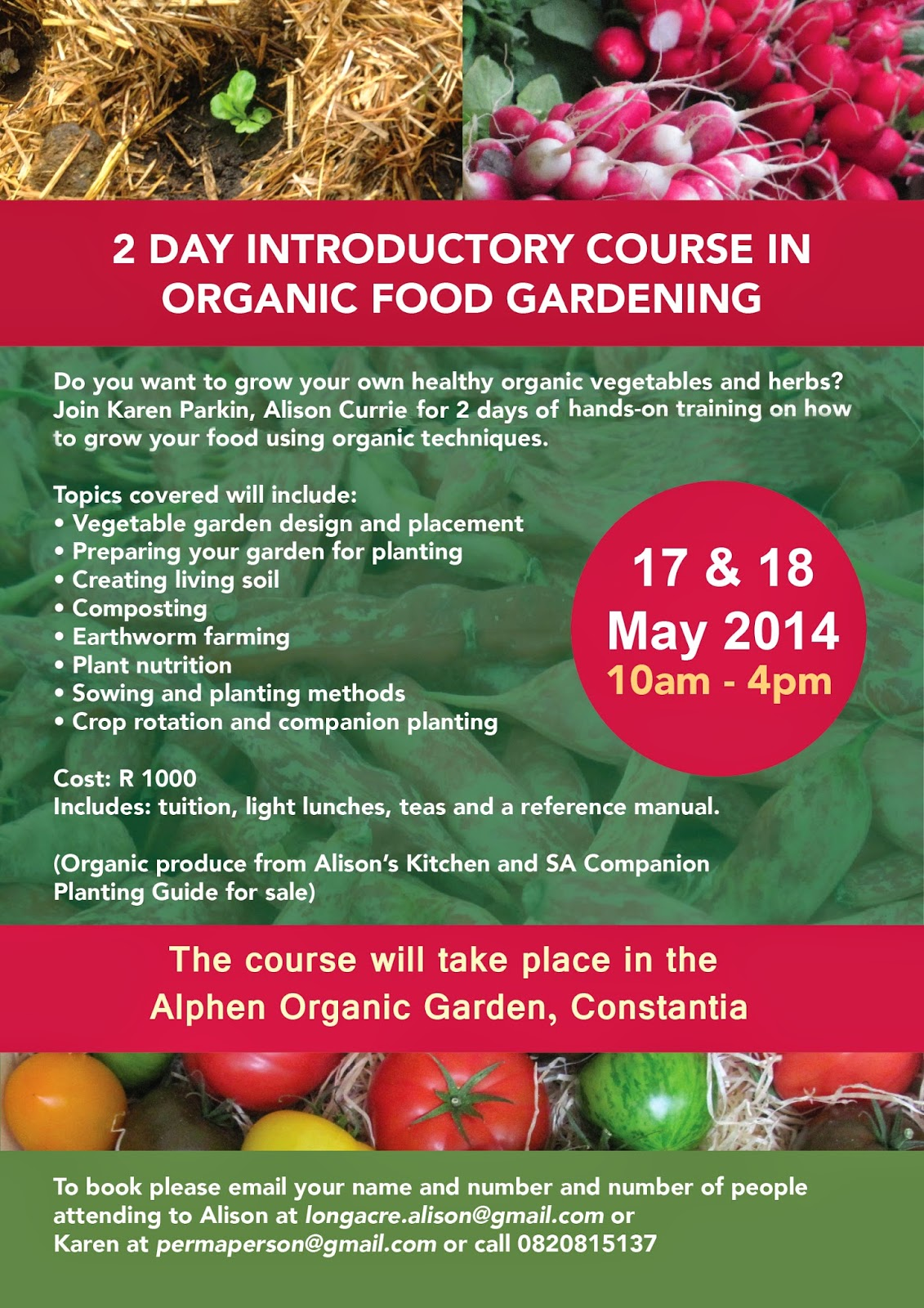 2 Day Intro to Organic Gardening