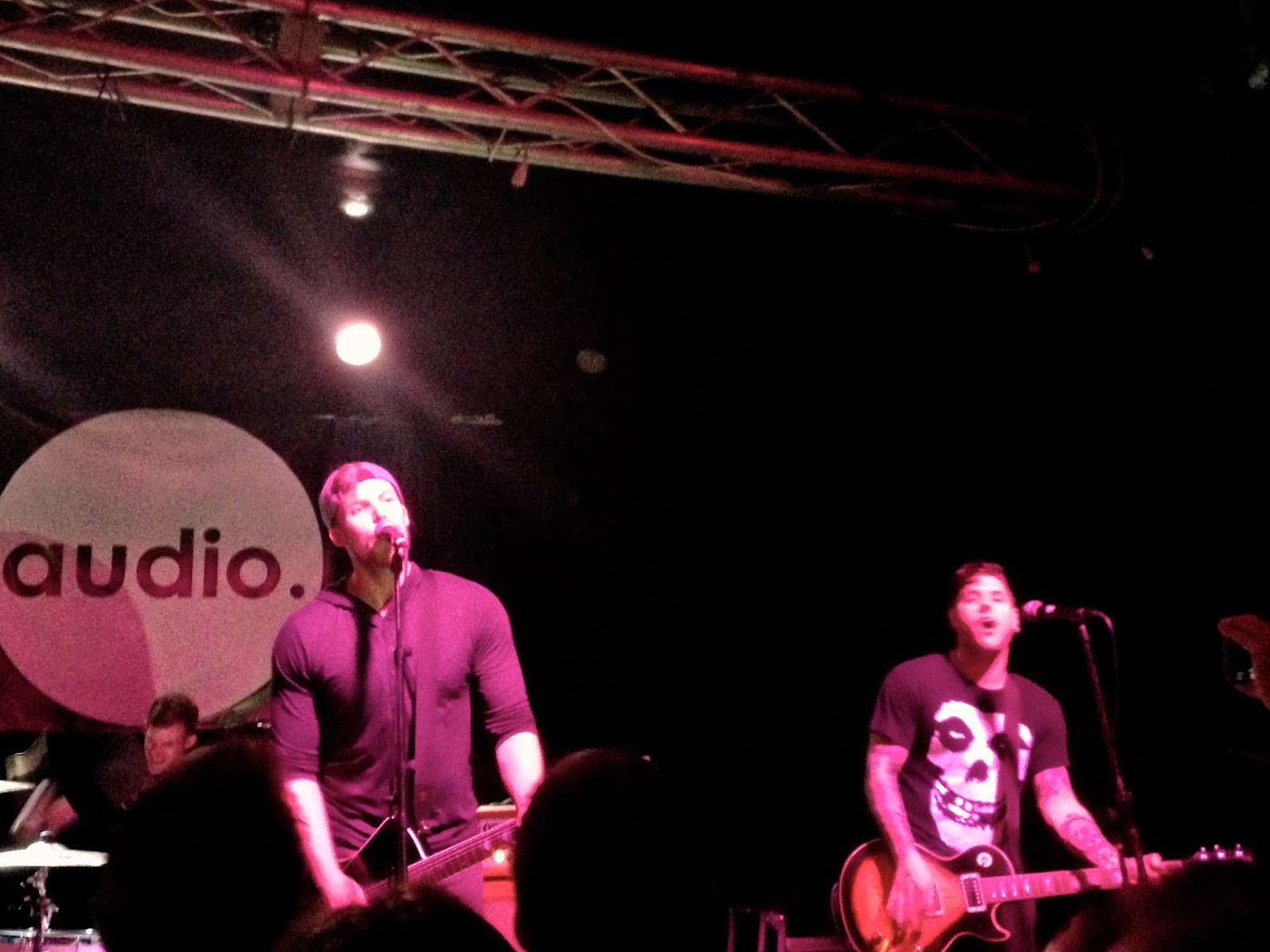 The Swellers in concert on their farewell tour at Audio, Glasgow