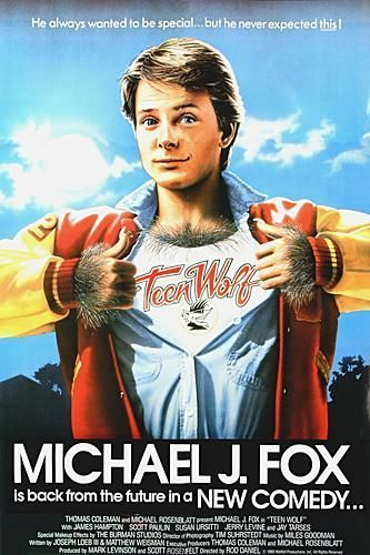 Teen Wolf 1985 80s films Michael J Fox (note to self, if said future self launches new career as TV or movie ...