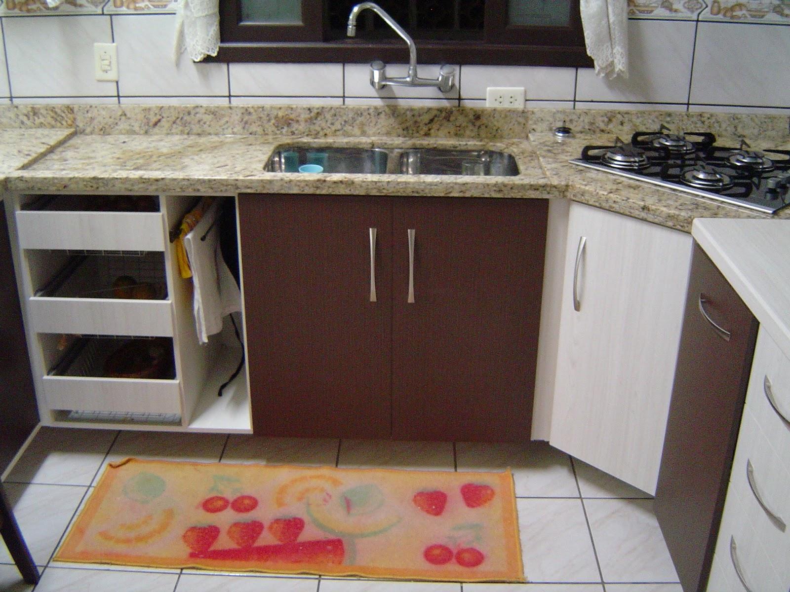 Cozinha Planejada Com Armario De Canto Mveis De Cozinha With