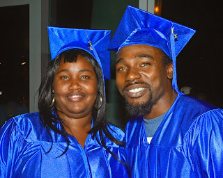 photo of two 2014 HSE grads