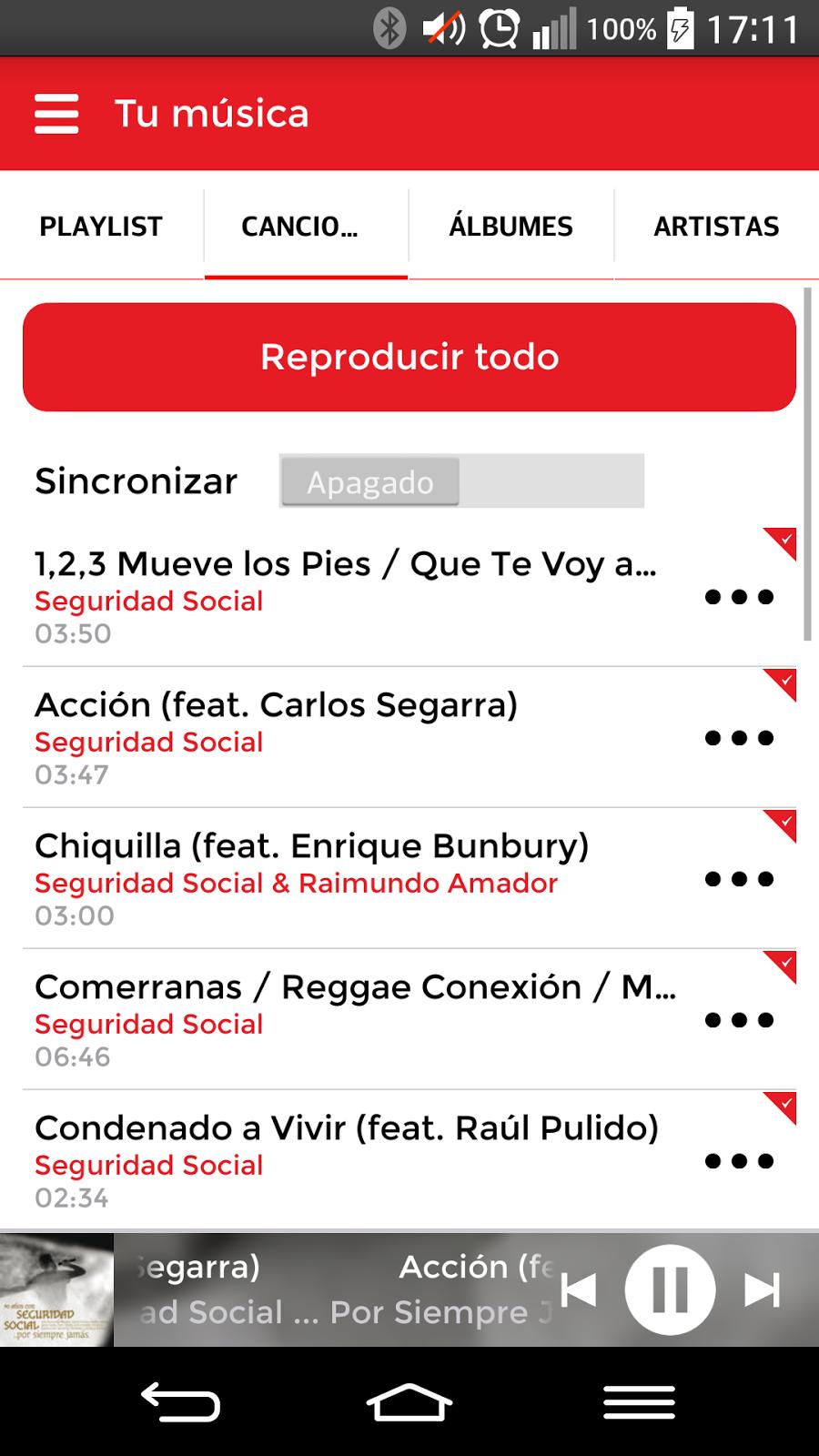 Consigue música gratis con la aplicación Musicall.