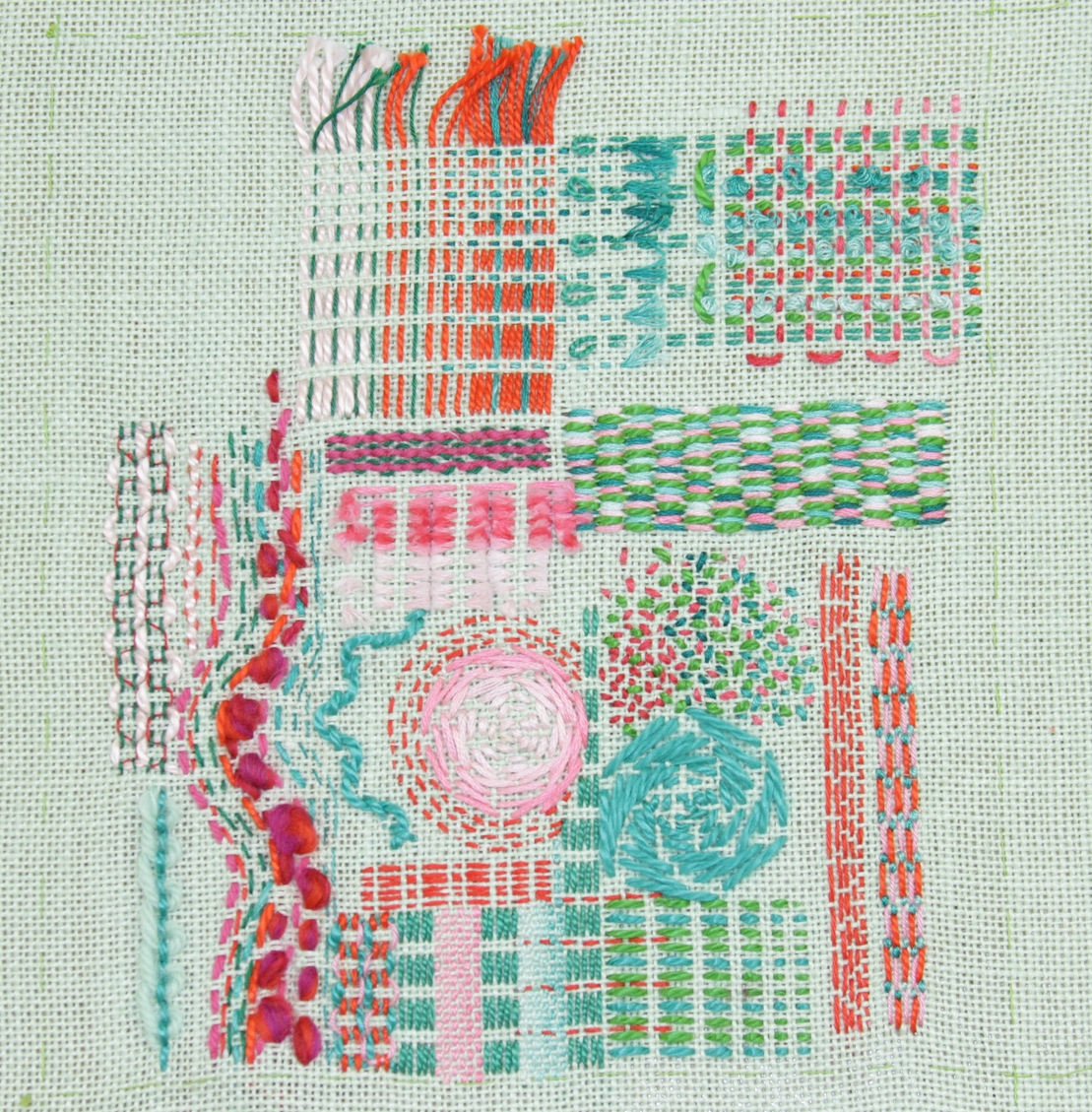 Sampler by Diana Springall