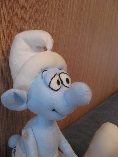 Смурфик. Текстильная кукла