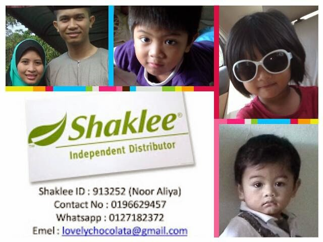PENGEDAR SHAKLEE MANJUNG ,IPOH     0196629457