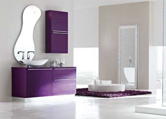 Pamba boma purple color scheme for Bathroom ideas violet