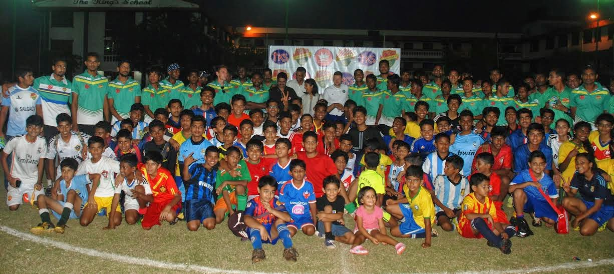 Salgaocar FC partner Kings School for Football Festival