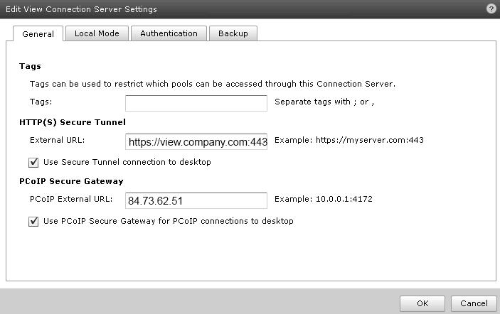 Cosonoks It Blog Installing Vmware View 50 Security Server Ssl
