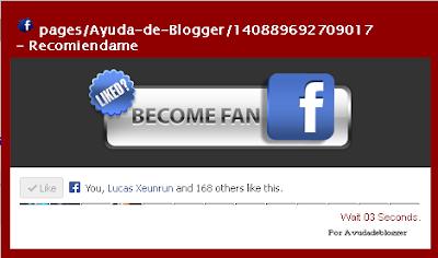 Popout de Facebook para blogger