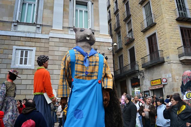 X Trobada de gegantons i bestiari infantil i d'escola de Catalunya