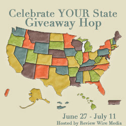 Enter the Celebrate Your State Giveaway Hop. Ends 7/11.