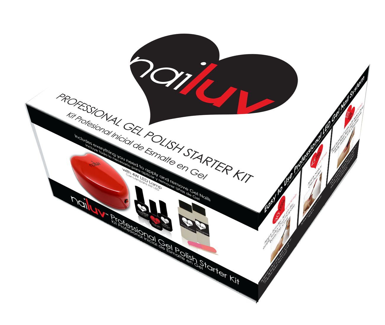 Nail A College Drop Out: nailuv Gel Nail Polish Starter Kit Review
