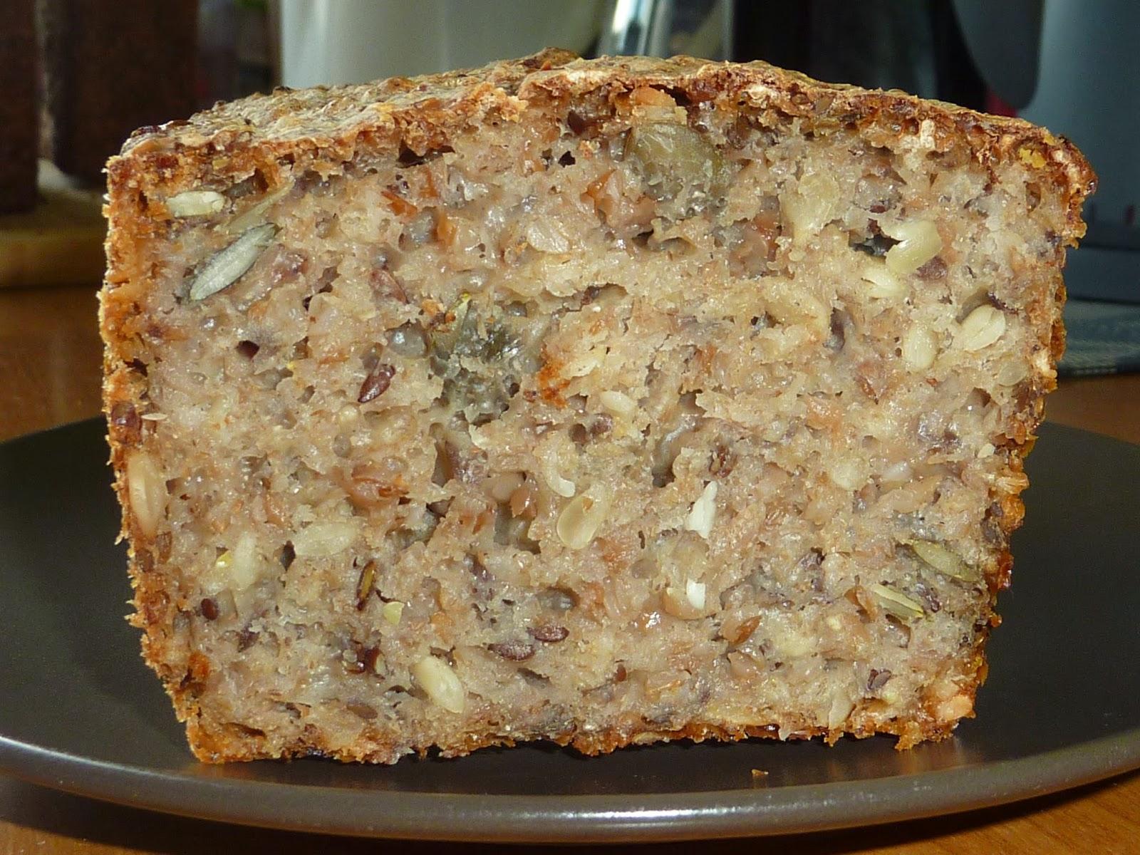 Chleb na zakwasie z kaszą gryczaną :-)