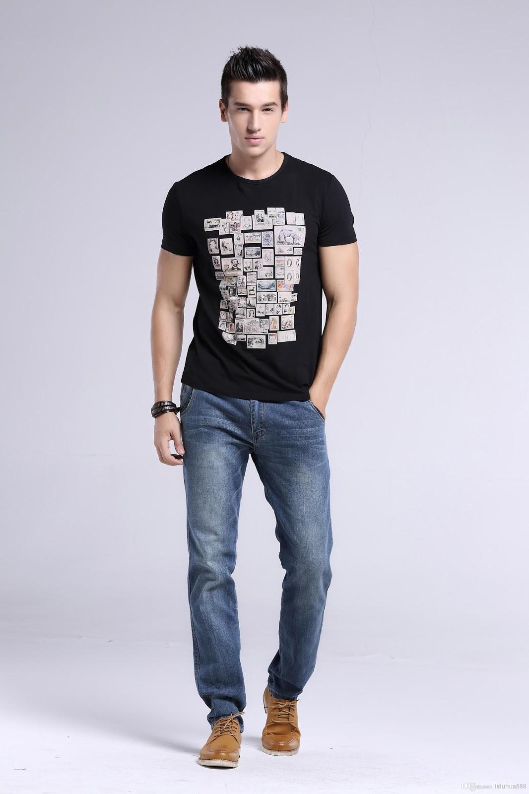 Dark jeans mens fashion 51