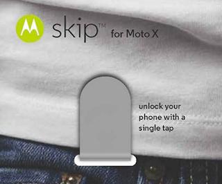 Moto X: Skip