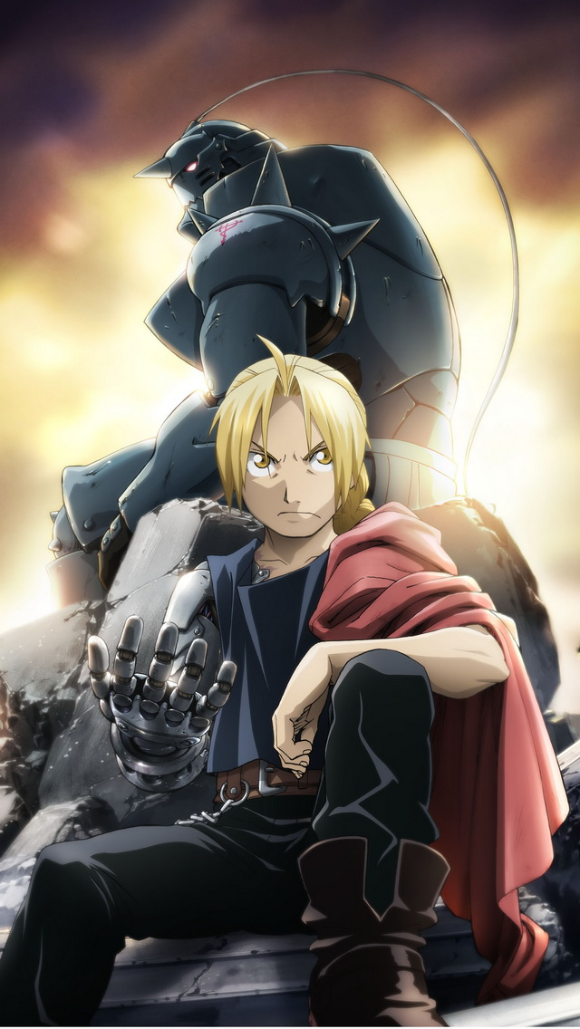 fullmetal alchemist brotherhood iphone 5 wallpaper
