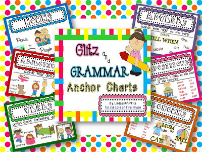 http://www.teacherspayteachers.com/Product/Glitz-Grammar-Anchor-Charts-703162