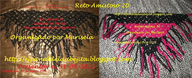SOY LA ORGANIZADORA DEL RETO 20!!!