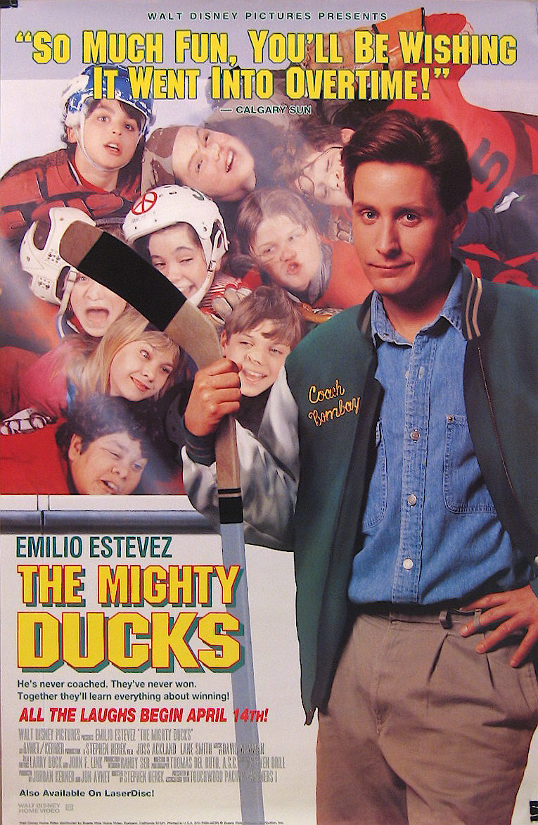 movie posters are dumb throwback thursday the mighty ducks