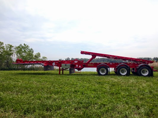 benlee roll off trailer double box trailer